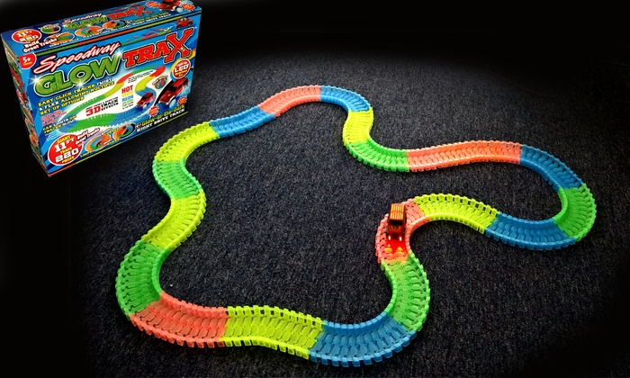 One or Two Speedway Glow Trax 220-Piece Race Sets for £11.99