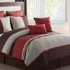 Seville Quilted 8-Piece Comforter Set