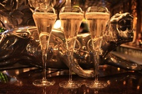 Flight of Champagne and Assorted Dim Sum at The Crazy Bear £25.00 (63% off)