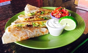Tequila Lime Cantina: Mexican Cuisine for Two or Four at Tequila Lime Cantina (Up to 42% Off)