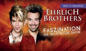 """Print your Ticket: """"Ehrlich Brothers"""": Faszination – Die neue Magie-Show im Jan. u. März u. a. in Berlin und Leipzig (bis zu 42% sparen)"""