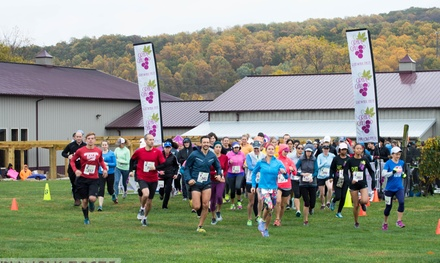 2- or 3.5-Mile Registration Packages for Grape Gallop on October 20, 2018 (Up to 44% Off)