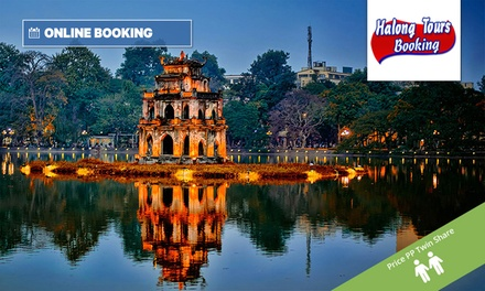 Vietnam: $429 Per Person for a 4-Night Hanoi & Halong Bay Cruise Tour with Sightseeing, Hotel Stay and Meals