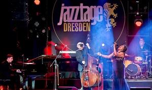 Jazztage Dresden: Ticket für ein Konzert nach Wahl während der Jazztage Dresden vom 4. bis zum 13. November 2016 (bis zu 50% sparen)