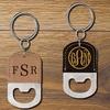 Porte clés avec vos initiales