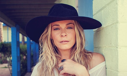 LeAnn Rimes on April 30 at 6 p.m.