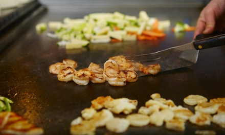 $15 for $25 Worth of Sushi, Teppanyaki, and Japanese Cuisine for Dinner for Two or More at Shogun Grill
