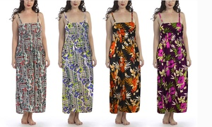 8a2a27c17 Women s Maxi Dress with Removable Straps. Plus Sizes Available.