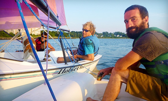 South Portland Sailing Center - South Portland: Three-Hour Sailing Lesson for One or Two at South Portland Sailing Center (Half Off)