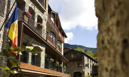 Andorra: de 1 a 5 noches para 2 personas con media pensión y late check-out en Hotel Santa Bàrbara de la Vall d'Ordino
