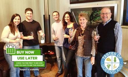 Tamborine Mountain Wineries Private Day Tour for Up to Seven People with Tastes of Queensland