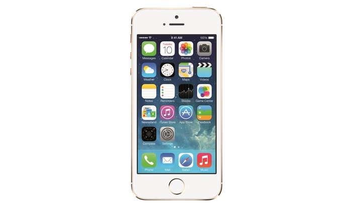 iphone for virgin mobile apple iphone 5s 16gb gold groupon goods 15272