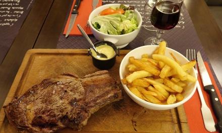 Menu avec entrée, plat et dessert pour 2 personnes à 19,90 € au restaurant Le Lafayette