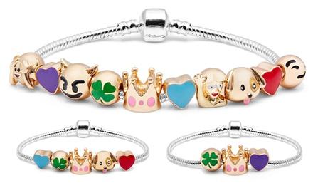 Bracelet émoticônes Good Luck