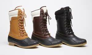 Sociology Women's Swan Weather Boot | Groupon Exclusive(Sizes 6, 7, 8)