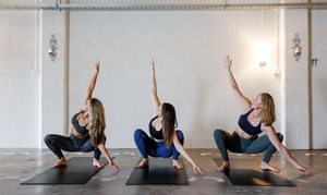 Harlow Hot Pilates & Yoga : Two Weeks of Hot Pilates or Yoga Classes for One ($19) or Four ($59) at Harlow Hot Pilates & Yoga (Up to $156 Value)