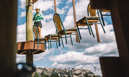 90-Minute Ropes Course for Two or Four at Open Air Adventure Park (44% Off)