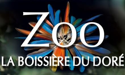 2, 3, 4 ou 5 entrées au Zoo La Boissière du Doré dès 26,90 €