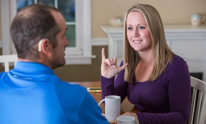 Corso linguaggio dei segni in offerta