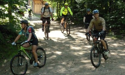 image for Two-Night <strong>Mountain Biking</strong> Adventure for One or Two People from Back Country Excursions (Up to 65% Off)