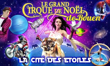 1 place en tribune d'honneur pour le spectacle « La Cité des Etoiles », date au choix à 12 € à Rouen