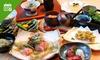 2名分~|厳選素材の日本料理フルコース9品、他