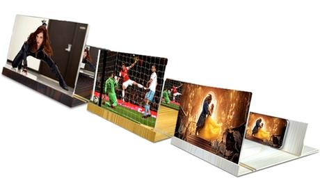 1 ou 2 agrandisseurs d'écran smartphone en bois de la marque Apachie