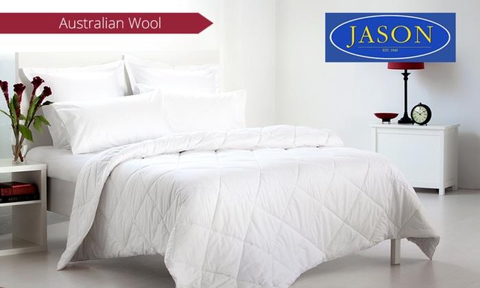 Jason Australian Wool Quilt   Groupon : jason wool quilt - Adamdwight.com