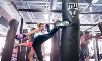 image for $29 for Two Weeks of Boxing and Kickboxing Fitness Classes at TITLE Boxing <strong>Club</strong> ($75 Value)
