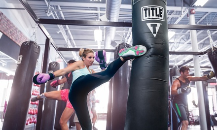 $19 for Two Weeks of Unlimited Boxing and Kickboxing Classes at TITLE Boxing Club ($125 Value)