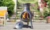 Groupon Goods Global GmbH: Steel Chimineas in Choice of Size and Design