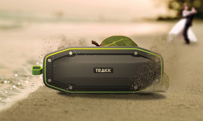 TRAKK Bullet Compact Waterproof Wireless Bluetooth Speaker ...