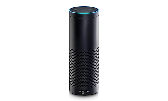 amazon echo with alexa groupon. Black Bedroom Furniture Sets. Home Design Ideas