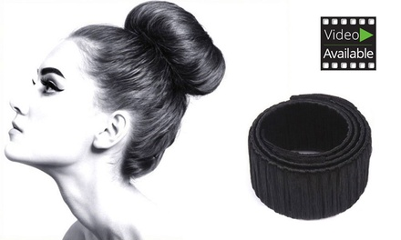 magic bun maker set groupon. Black Bedroom Furniture Sets. Home Design Ideas