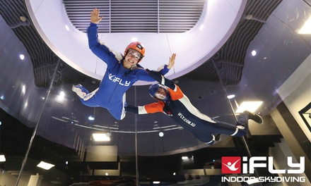 iFLY Indoor Skydiving Downunder: 2 $69 or 4 Flights Person $119.20 or Family Pkg with 10 Flights $352