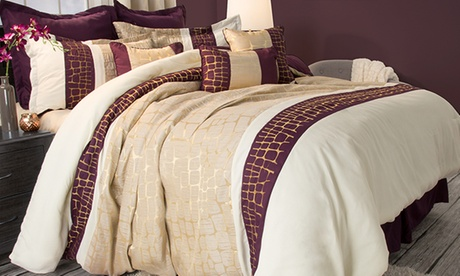 Comforter Set with Bonus Decorative Pillows (9- or 10-Piece) 20be24ea-df5e-11e6-82ae-00259060b5da