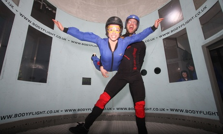 Experience: Indoor Skydiving For just: £25.95