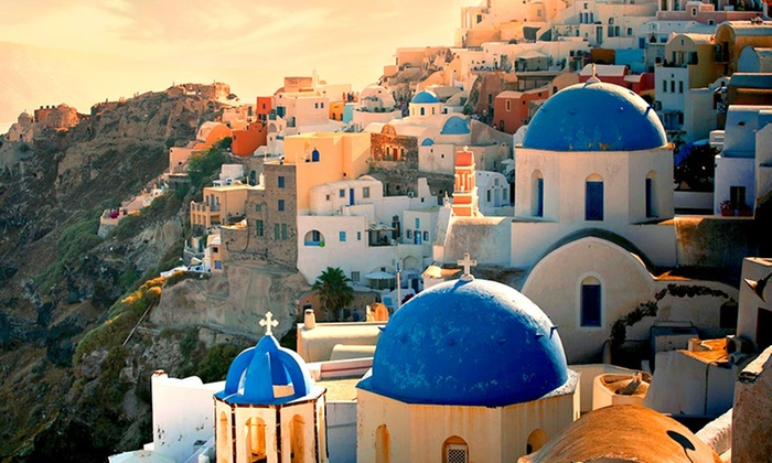 Greece Vacation with Airfare from go-today: 8-Day Greece Vacation with Airfare and Accommodations