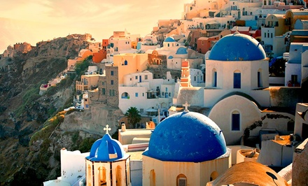 Greece Trip with Airfare Accommodations
