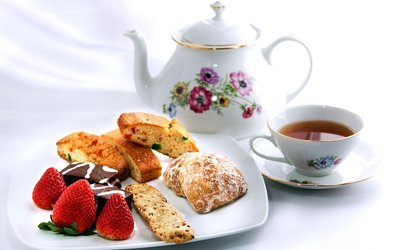 image for <strong>Cafe</strong> and Teahouse Fare for Lunch at Twin Creek Tea Room (Up to 55% Off)