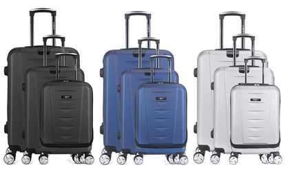 Shop Groupon Bluestar Three Suitcases Set de92c8ad5a