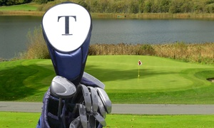 GiftsForYouNow.com: Custom Embroidered Plush or Leatherette Golf-Club Cover from GiftsForYouNow.com (Up to 52% Off)
