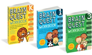 Brain Quest Kids' Workbook for Kindergarten through 3rd Grade