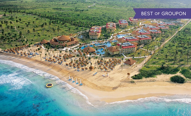 TripAlertz wants you to check out ✈ 4, 6, or 7 Night All-Incls. Dreams Punta Cana Trip w/Air from Vacation Express. Price/Person Based on Double Occupancy ✈ All-Incls. Dreams Punta Cana Resort Trip w/Air from Vacation Express - All-Inclusive Punta Cana Resort