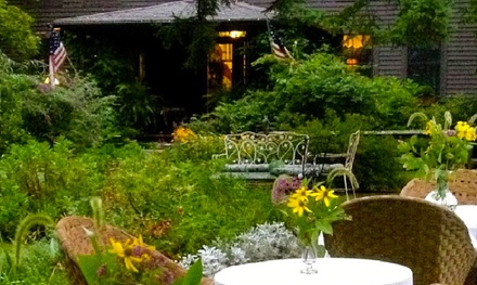 1- or 2-Night Stay for Two at Roseledge Country Inn and Farm Shop in Preston, CT. Combine Up to 8 Nights.