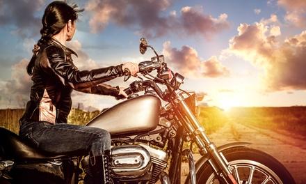 Wertgutschein anrechenbar auf Motorrad-Führerschein-Ausbildung (Klasse A) in der Performance Fahrschule