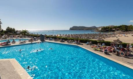 Mallorca: habitación doble o superior para 2 personas con opción a media pensión o todo incluido en Hotel Beverly Playa