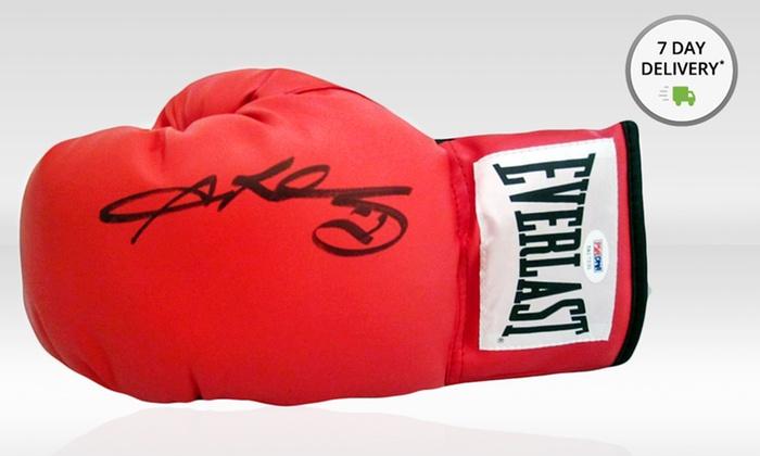 Signed Sugar Ray Leonard Left Glove: Signed Sugar Ray Leonard Left Glove. Free Returns.
