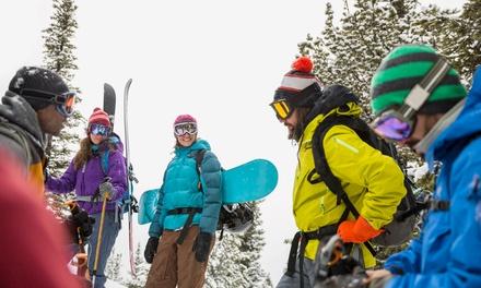 Curso de esquí o snowboard para 1 o 2 personas en Lusa Sierra Nevada (hasta 70% de descuento)