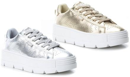 Sneakers con zeppe XTI per donna